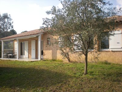 Photo for Villa close to Cannes and the beaches, in a verdant park