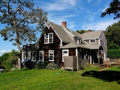 Aquinnah Skye Ln:Private Custom Post & Beam,Walk to Beach,Water View,Central A/C