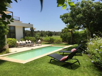 Photo for Luxurious villa with heated pool for six people on Essaouira golf course