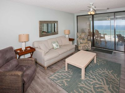 Photo for 6th Floor Gulf-Front | In/Outdoor/Kiddie Pools, Hot Tub, Sauna, Fitness, Wifi | Free Activities