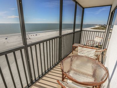 Photo for Welcome to Island Winds #1223, your elegant yet beachy gulf-front address in paradise.
