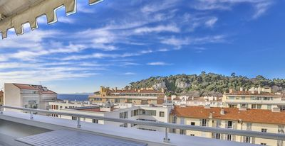 Photo for NICE PORT-VERY BEAUTIFUL APARTMENT TERRACE AND VIEW