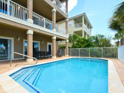 Photo for Spacious vacation home w/ HEATED POOL & LAKE VIEW! Private BALCONIES! 🌇