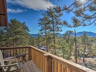 Photo for NEW! Estes Park Cabin - 5 Min. to Downtown + RMNP!