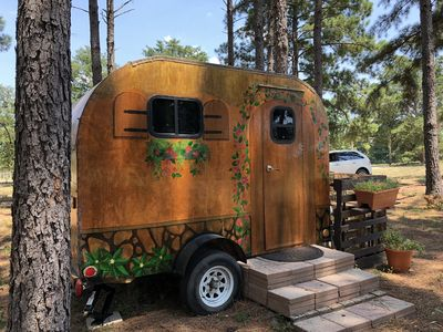 Photo for Sweet little Hippie Chick RV, very quiet and peaceful