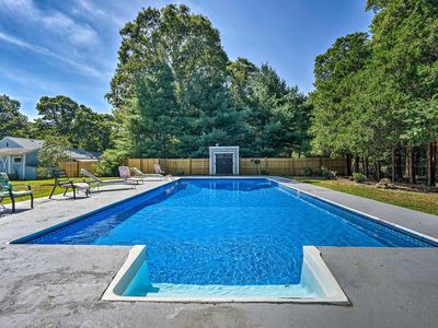Photo for East Falmouth Home w/ Pool- Near Downtown & Beach