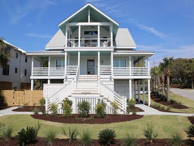 Photo for Ocean Views/Heatable Pool & Spa/Outdoor Living Space/100 Steps to the beach!