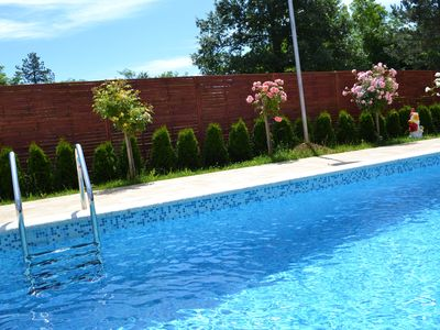 Photo for Private pool, private entrance, free wi-fi, large parking