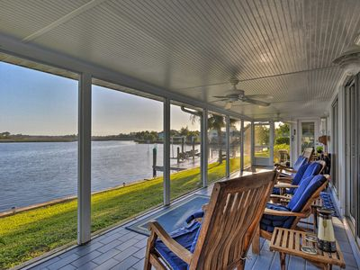 Photo for Sleek Waterfront Crystal River Home w/Private Dock