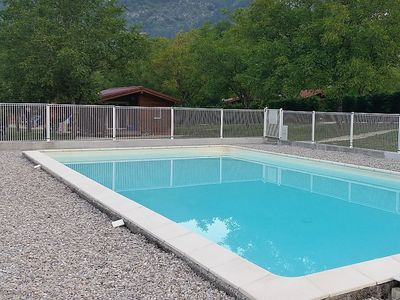 Photo for 2 bedroom Villa, sleeps 4 in Le Moulin with Pool