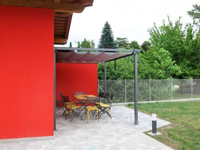 Photo for 3 bedroom Villa, sleeps 8 in Togliano with Air Con and WiFi