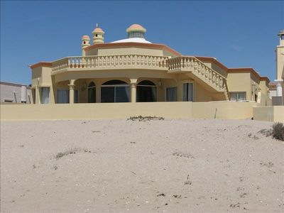 Photo for Luxurious Beachfront House and Casita in Gated Community