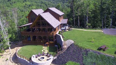 Photo for INTRODUCTORY SPECIALS- BRAND NEW SEPT 1!  LUX CABIN BEST LOCATION NICEST IN AREA