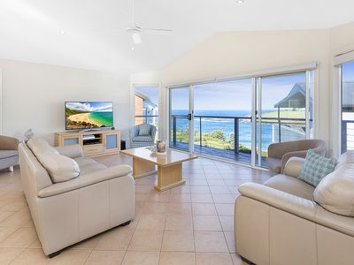 Photo for Seaview is a beautiful, modern self contained house with lovely ocean views
