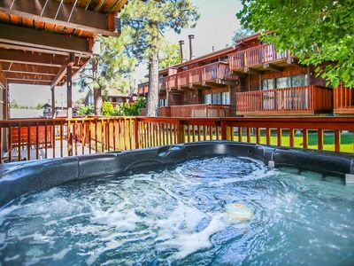 Photo for ~Resort Side Retreat~Walk To Lift Resort Condo~Private Hot Tub~Essentials Included~
