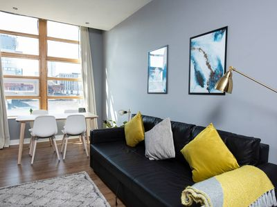 Photo for Bright & Beautiful Ancoats Exclusive Apartment!