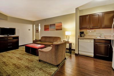 Welcome to our modern suite!