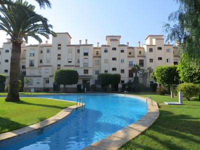 Photo for 2 bedroom apartment in La Isla complex by The Arenal Javea Spain