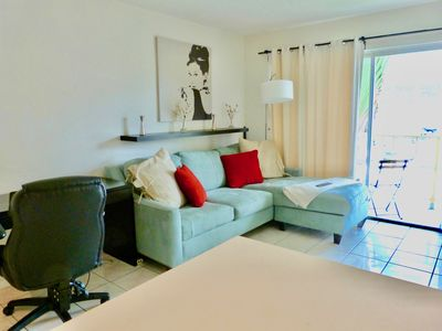 Photo for GREAT LOCATION - 1 bed 1 bath private apartment in the heart of Miami