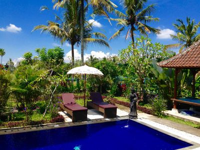 Photo for 3bdr Private Villa With Pool and Ricefield View, Quiet Ubud Area