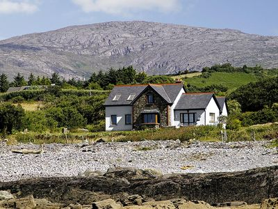 Photo for Detached stone front house, facing south, at the foot of the Caha Mountains and enjoying magni…