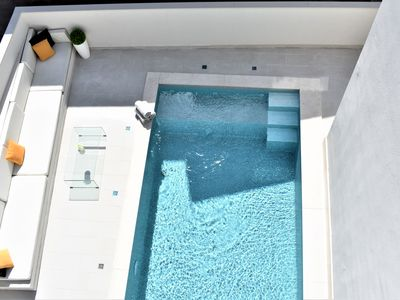 Photo for Modern Villa by Sea with Pool