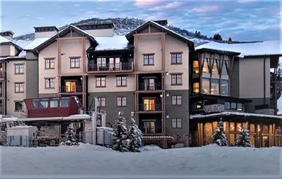 Photo for Canyons Slope-Side Condo – Ski-In/Ski-Out – Steps to Gondola!