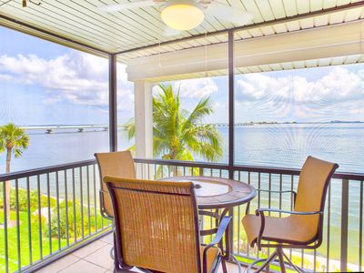 Photo for Bay Front Views and beautifully remodeled ! Two Bedroom Condo