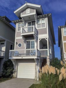 Photo for Creek/Marsh View, Golf Cart to Beach, Amenities, 3 Bed W/Balconies, 3 Bath, WiFi  Please ask us about Golf Packages for Monthly Rentals!!!!