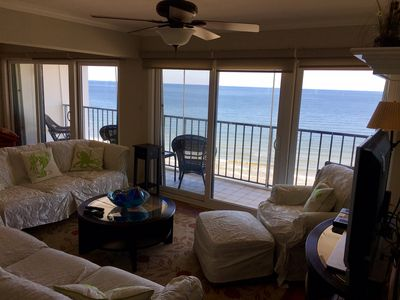 Photo for Beachfront, Penthouse- 3 BR, 2 BA, Sleeps 6- WiFi