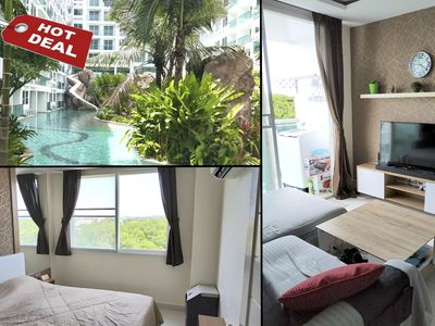 Photo for Amazon Residence Jomtien Near Beach/Luxury Room