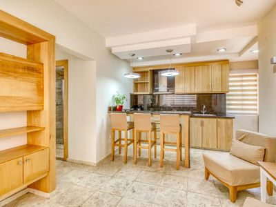 Photo for Beautiful Cabarete retreat has large kitchen & free WiFi - steps from beach!