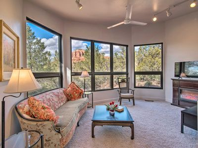 Photo for Sedona Apartment w/ Private Patio & Red Rock Views
