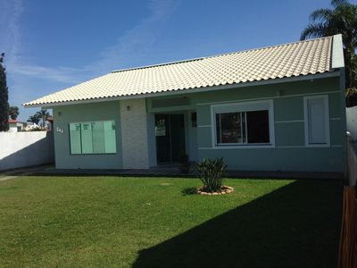 Photo for House with 2 Bedrooms in Jurere, 250m from the Sea!