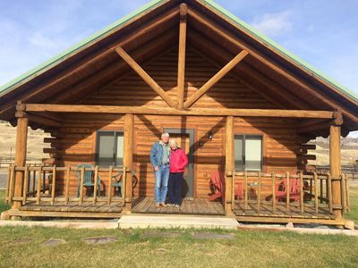 Photo for Yellowstone Country Cabins - Log Cabins on the Yellowstone River ( Bear Cabin )