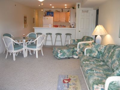 Photo for Free night!! Lakefront condo with walk off deck to pools and dock