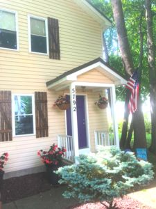 Close Up Of The Front Of The Cottage