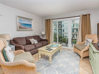 Photo for Enjoy Family Fun on St Simons Island! Oceanfront Condo with  Pool, Fitness Center, Tennis