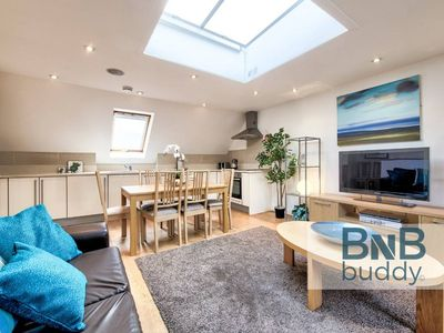 Photo for Quiet Mews Street Apartment in the Heart of Edinburgh