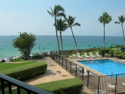 Photo for 40% off Aug 22-24 $123/nt! Oceanfront Remodeled Unit Great ocean view!