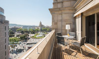 Photo for Luxury suite with private terrace Placa Catalunya