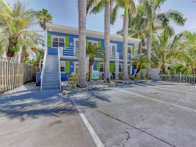 Photo for This condo is a cozy getaway for vacations close to the beach.