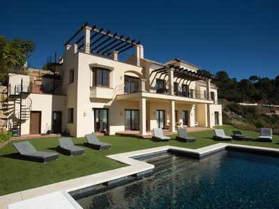 Photo for Spectacularly located luxury villa near Marbella - perfect for families