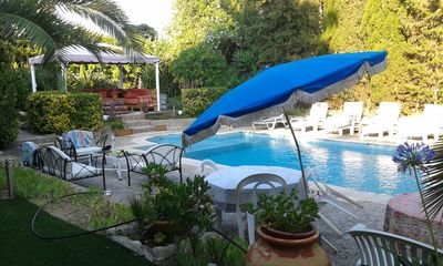 Photo for small paradise, pool villa, 400M Nice beach, the countryside in the city center.