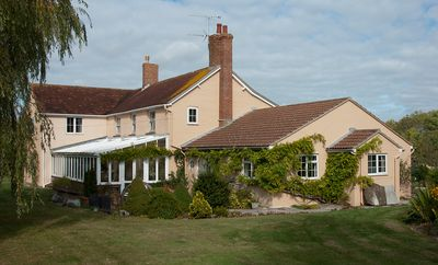 Ridge Farm Annexe adjoins the main house,  set in it's own 3 acres of land