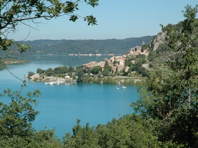 Photo for 'MARJOLAINE' Gite T2 / VIEW OF THE LAKE 200 m away from the beaches