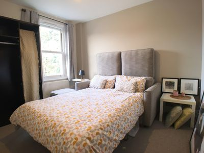 Photo for 20 mins by tube to the Centre,  clean air, garden, brand new