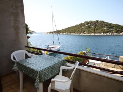 Photo for Studio flat near beach Zaklopatica (Lastovo)