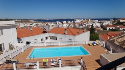Photo for Apartment In Lagos, Western Algarve, Close To Town/beach With Pool And Sea Views