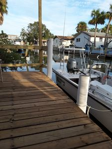 Photo for The Waters Edge 2/1 with Boat Dock in back yard